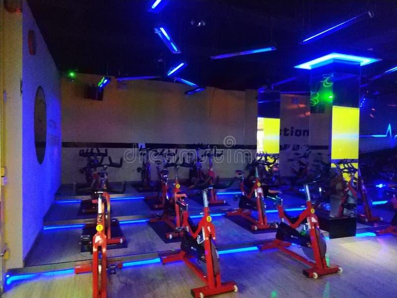 Styl sala gimnastyczna zdjęcie royalty free