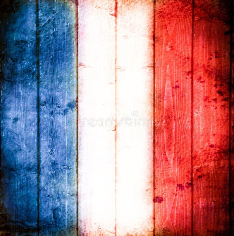 Style ancien français de drapeau photos libres de droits
