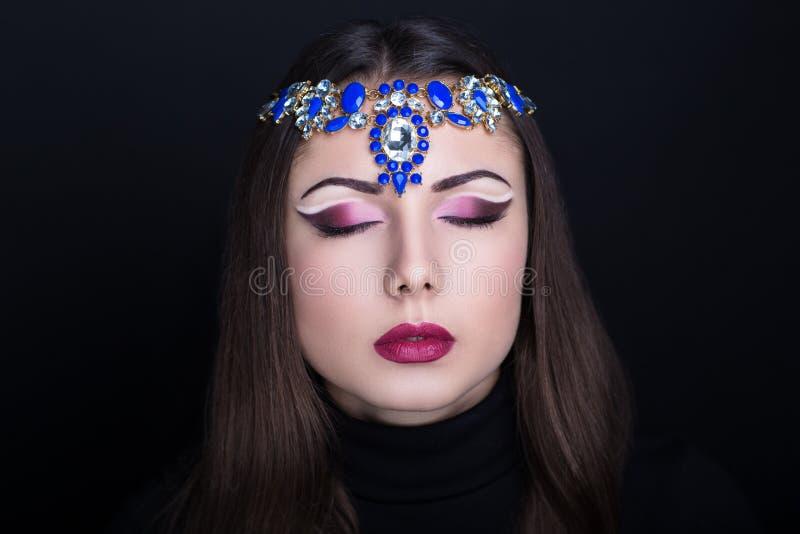 Style arabe de femme image stock