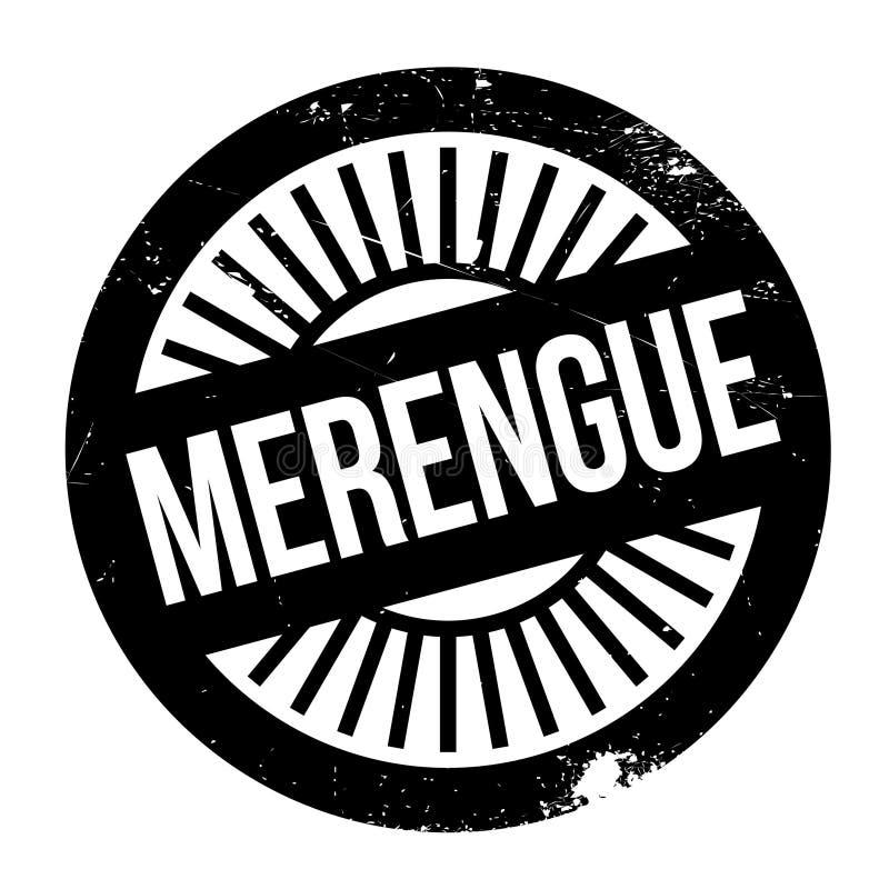 Style célèbre de danse, timbre de Merengue illustration libre de droits