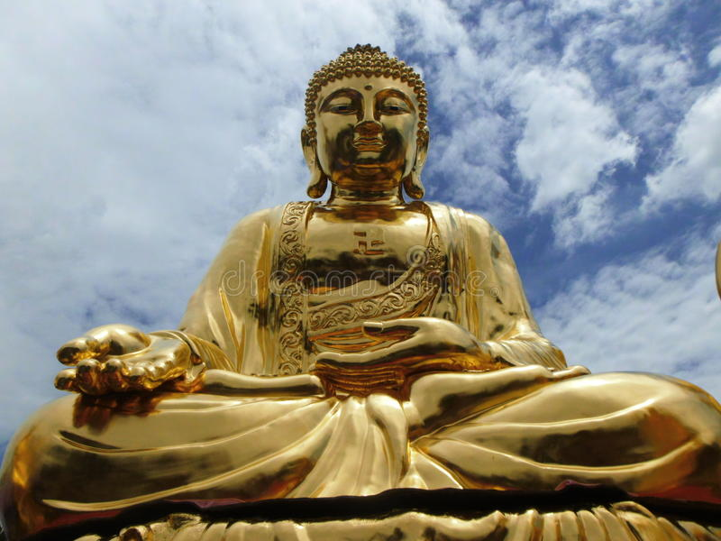 Style chinois Bouddha photo stock