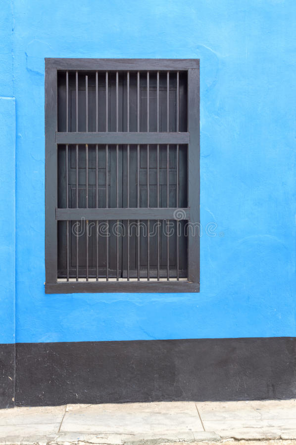 Style colonial d'architecture au Trinidad, Cuba photos stock