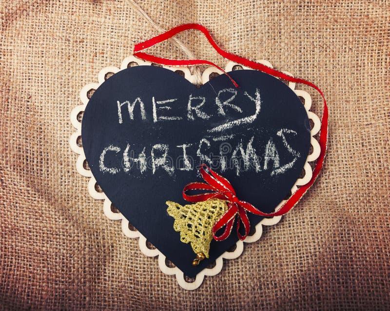 Style d'Instagram de signe de Joyeux Noël photographie stock