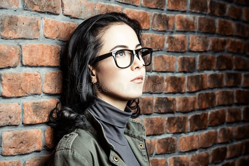 Style de lunettes en verre image stock