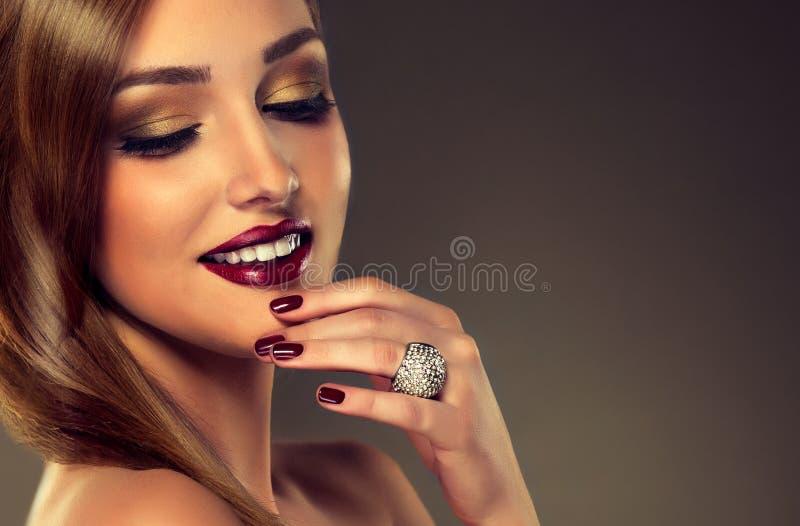Style de luxe de mode photo stock