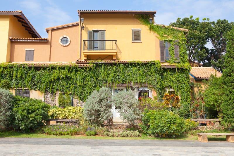 Style de maison de l'Italie photo stock