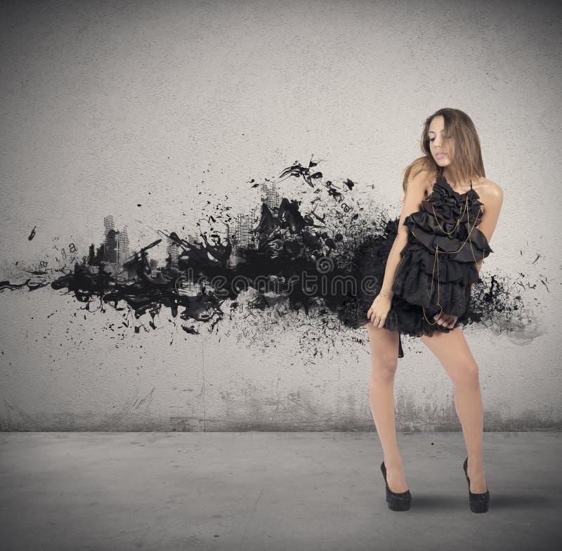 Style de mode photographie stock libre de droits