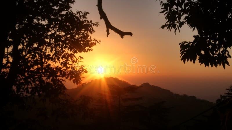 Style de Shimla image libre de droits