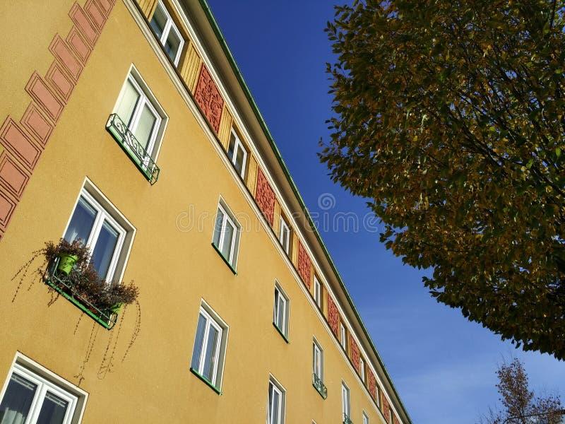Style de Sorela dans l'architecture photographie stock