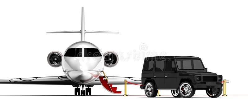 Style de vie de luxe illustration de vecteur