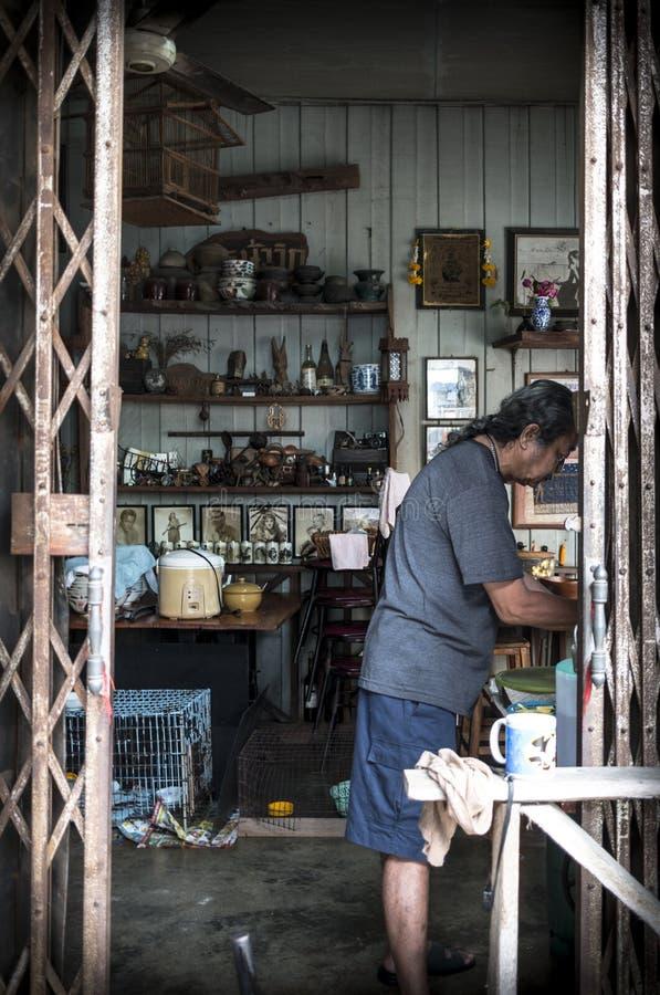 Style de vie de Photharam photographie stock libre de droits