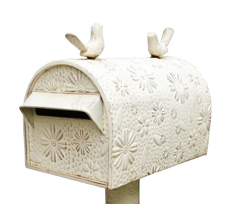 Style de vintage de boîte aux lettres photo stock