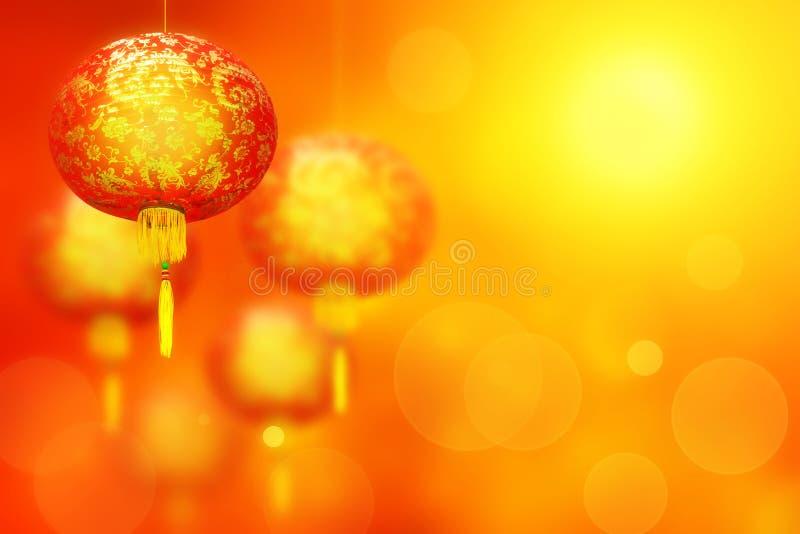 Style doux de lanterne de la Chine pendant la nouvelle année chinoise photo libre de droits