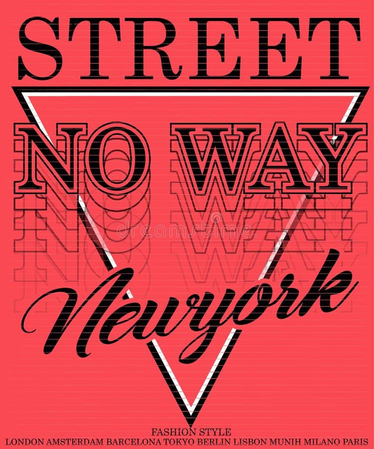 Style graphique de mode de conception de vecteur de T-shirt d'homme de slogan de typographie de vintage illustration libre de droits