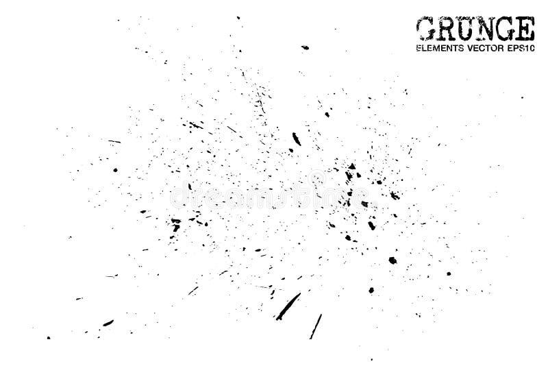 Style grunge des particules de poussière fond et texture Vecteur illustration stock