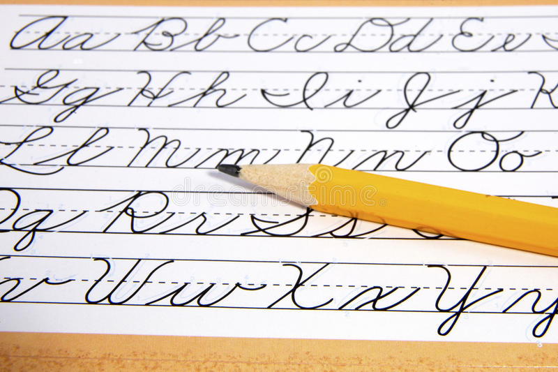Style Guide For Cursive Stock Photos - Image: 25084573