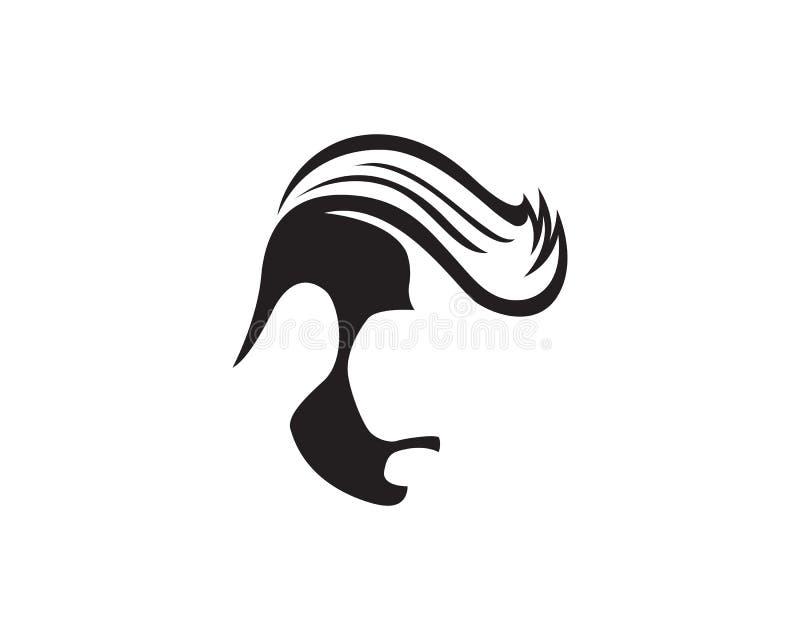 Style haircut icon vector. Illustration royalty free illustration
