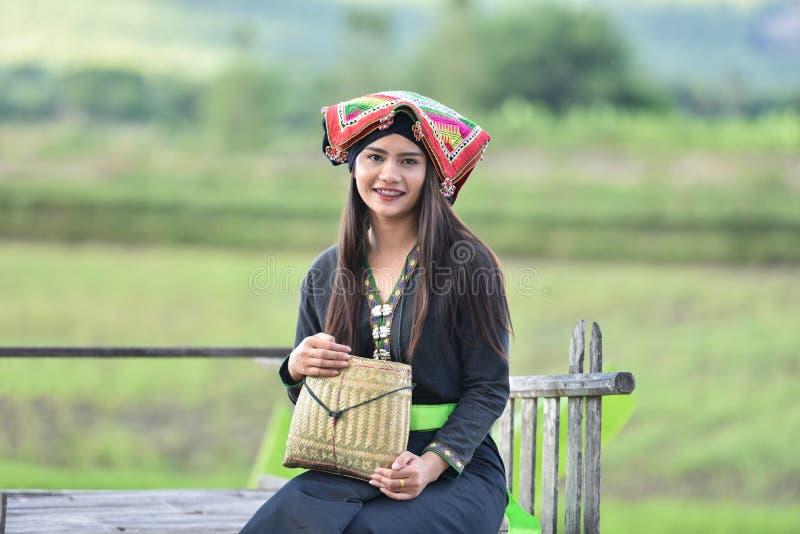 Style heureux d'Asiatique de fille photographie stock libre de droits