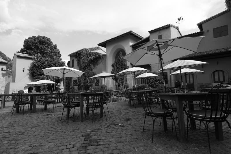 Style italien de village photos stock