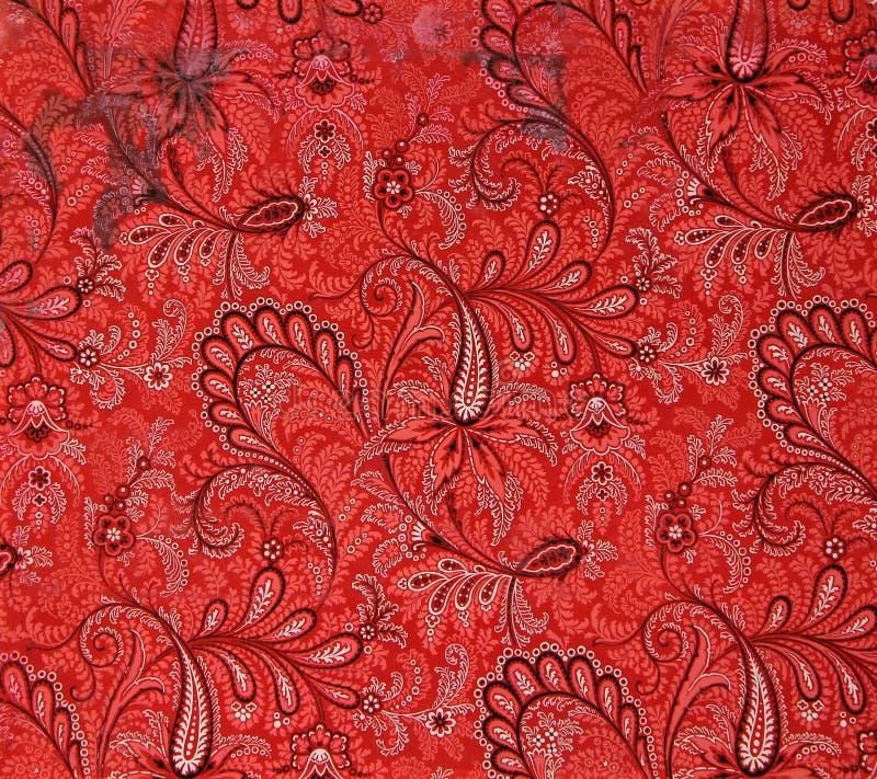 Style moderne de modèle original de textile Gouache peinte à la main de vintage de croquis illustration stock