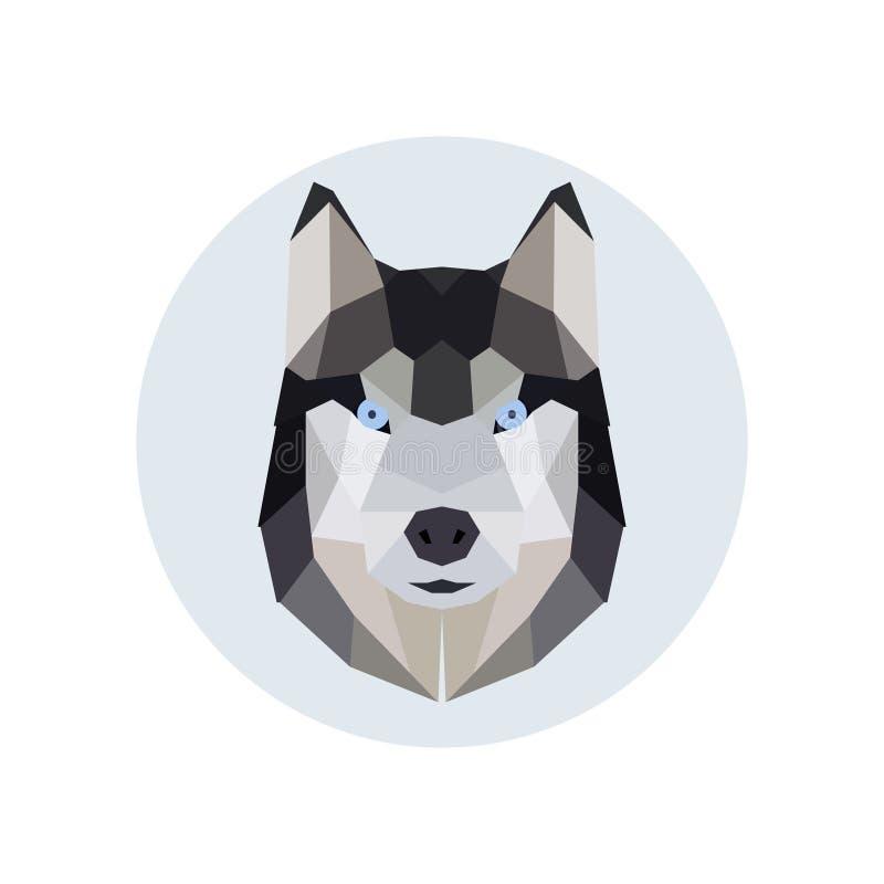 Download Style Polygonal Principal Enroué Illustration de Vecteur - Illustration du isolement, logo: 87709626