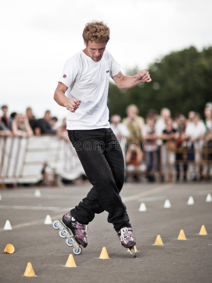 Free Style-slalom Competition Royalty Free Stock Images - 10526209