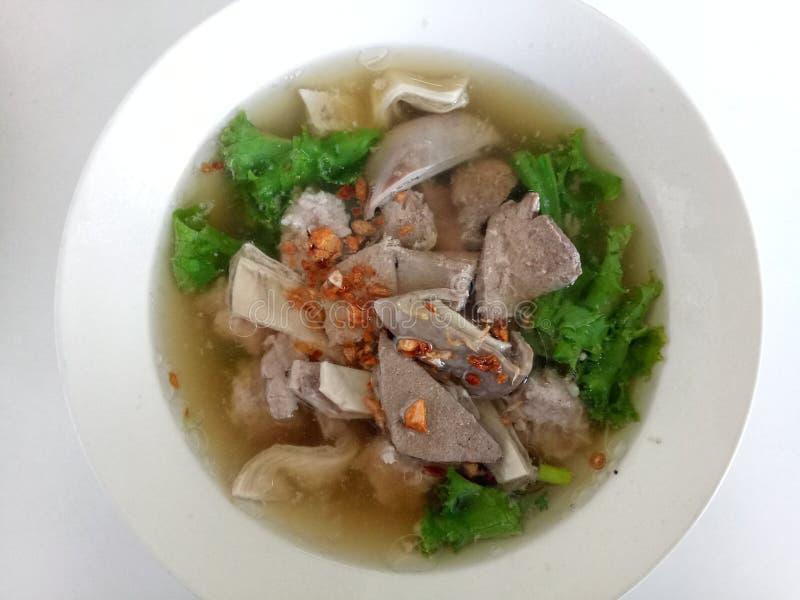 Style thaïlandais de petit déjeuner images stock