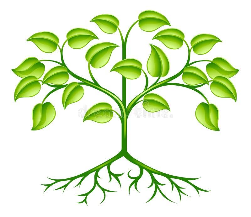 Download Stylised tree design stock vector. Illustration of flora - 24438530