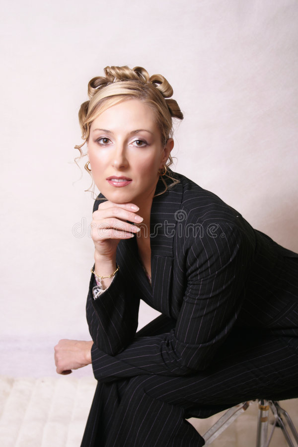 Stylised woman royalty free stock image