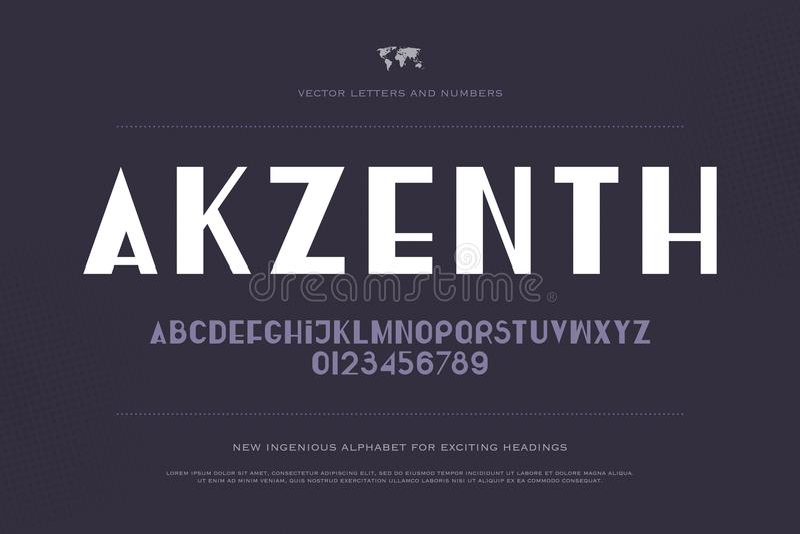 Akzenth stock illustration