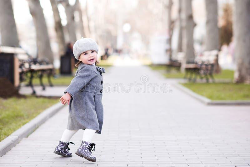 Stylish baby girl stock photography