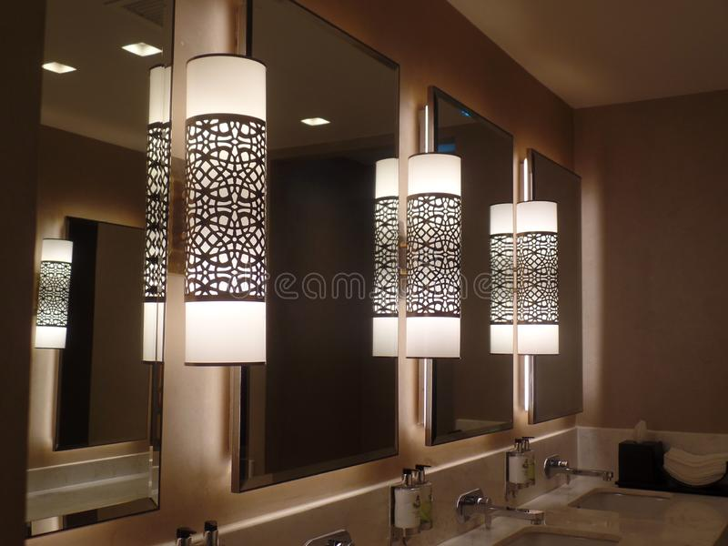 1 104 Bathroom Mirror Lights Photos Free Royalty Free Stock Photos From Dreamstime
