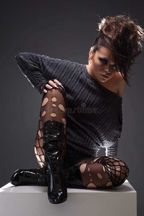 Free Stylish Beautiful Woman Stock Images - 13438254