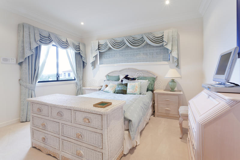 Stylish Bedroom Stock Photo