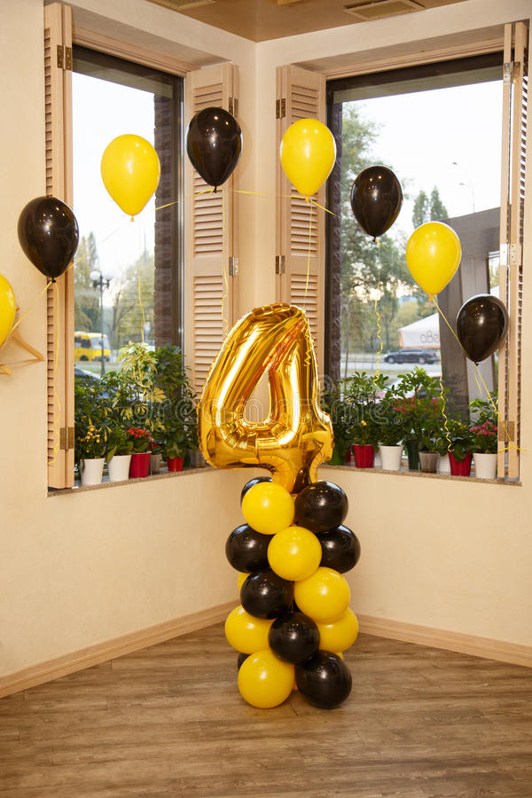Stylish Birthday Decorations For Little Boy On His Fourth