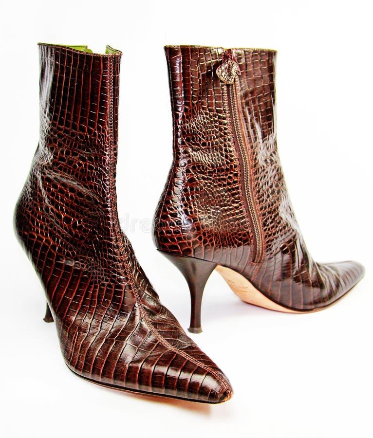 Download Stylish Boots stock photo. Image of around, reddish, pair - 17188404
