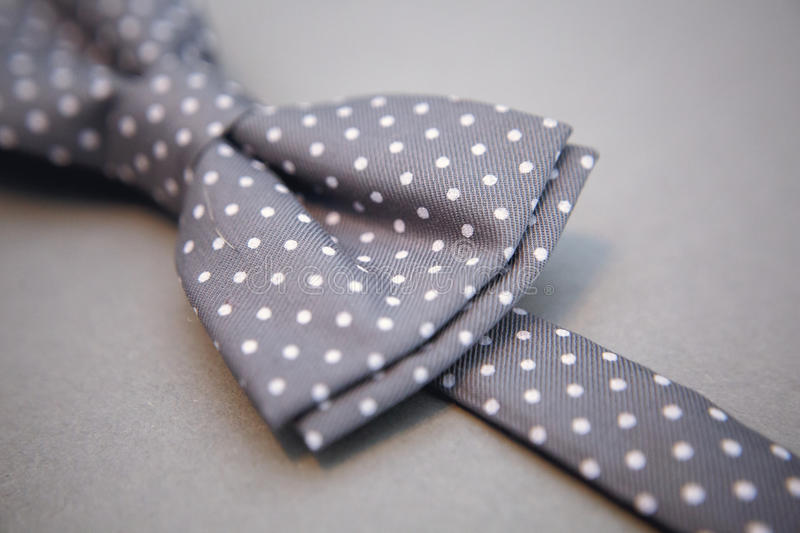 Stylish bowtie soft cloth ribbon. Classic groom accessories. Set of men`s stylish vintage. Male decoration for couple. Jewelry for man. Groom`s morning royalty free stock photos