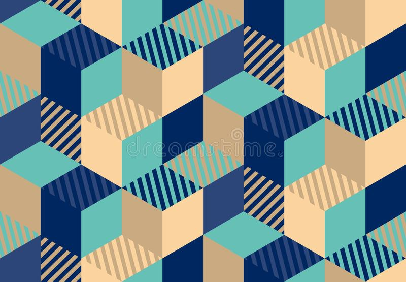 Stylish business background. geometry seamless pattern. vector illustration