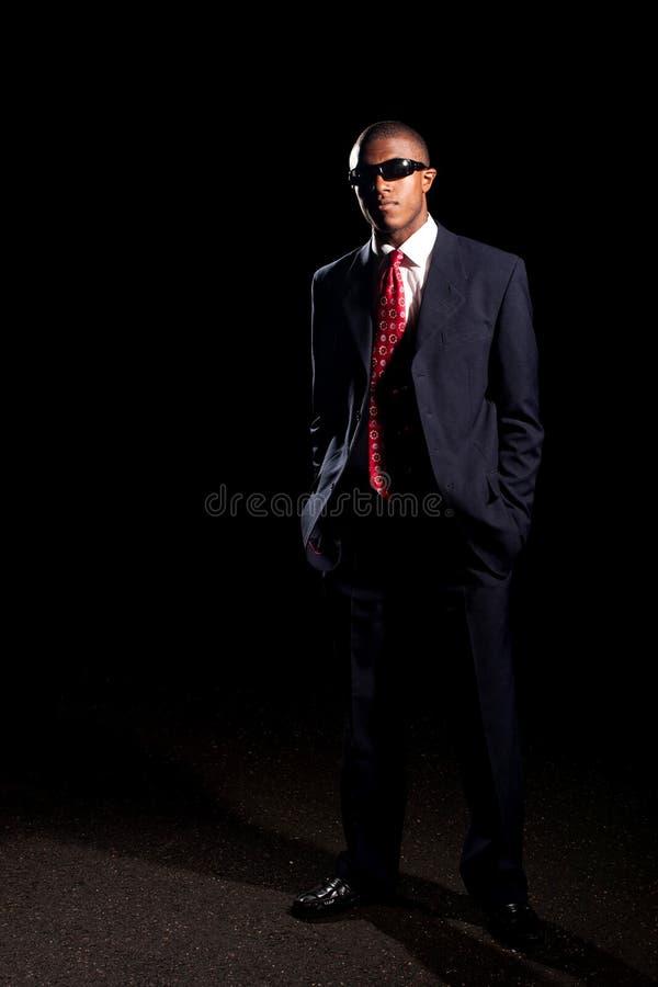 Stylish Business Man Wearing Shades Royalty Free Stock Images