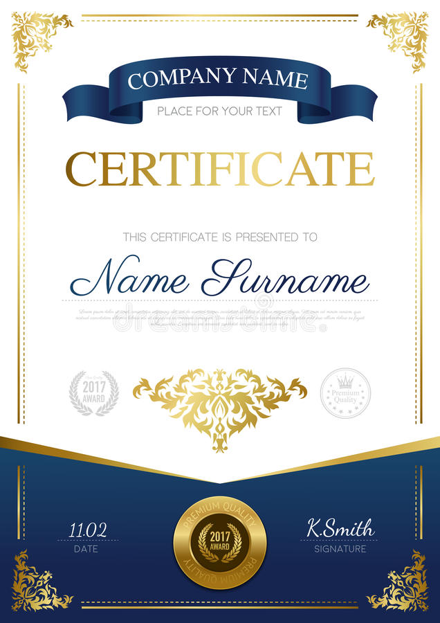 Stylish certificate design stock vector illustration of banner download stylish certificate design stock vector illustration of banner 82631217 yadclub Choice Image