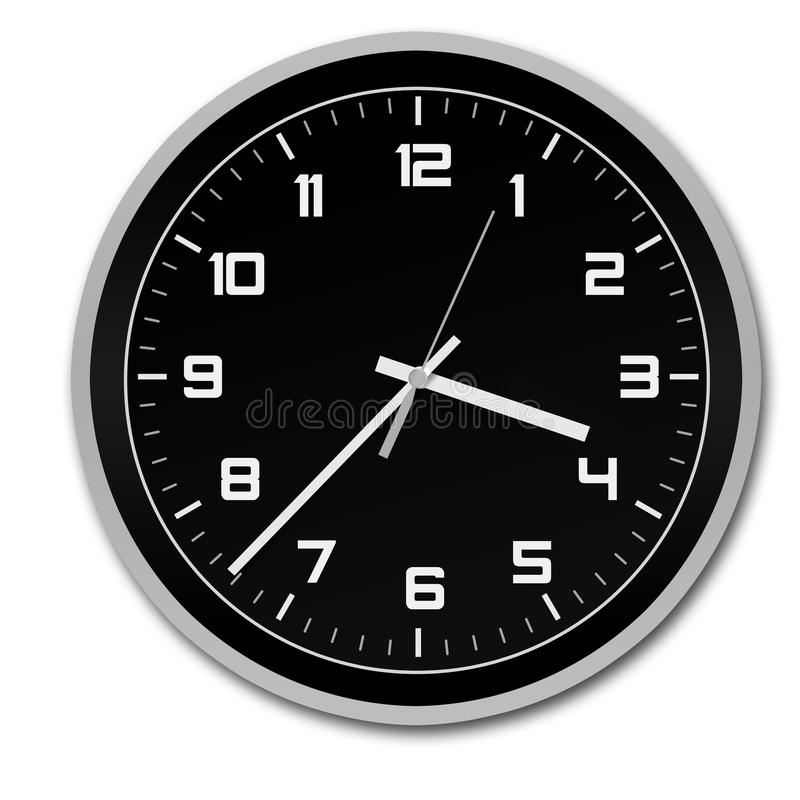 Stylish clock royalty free stock photos