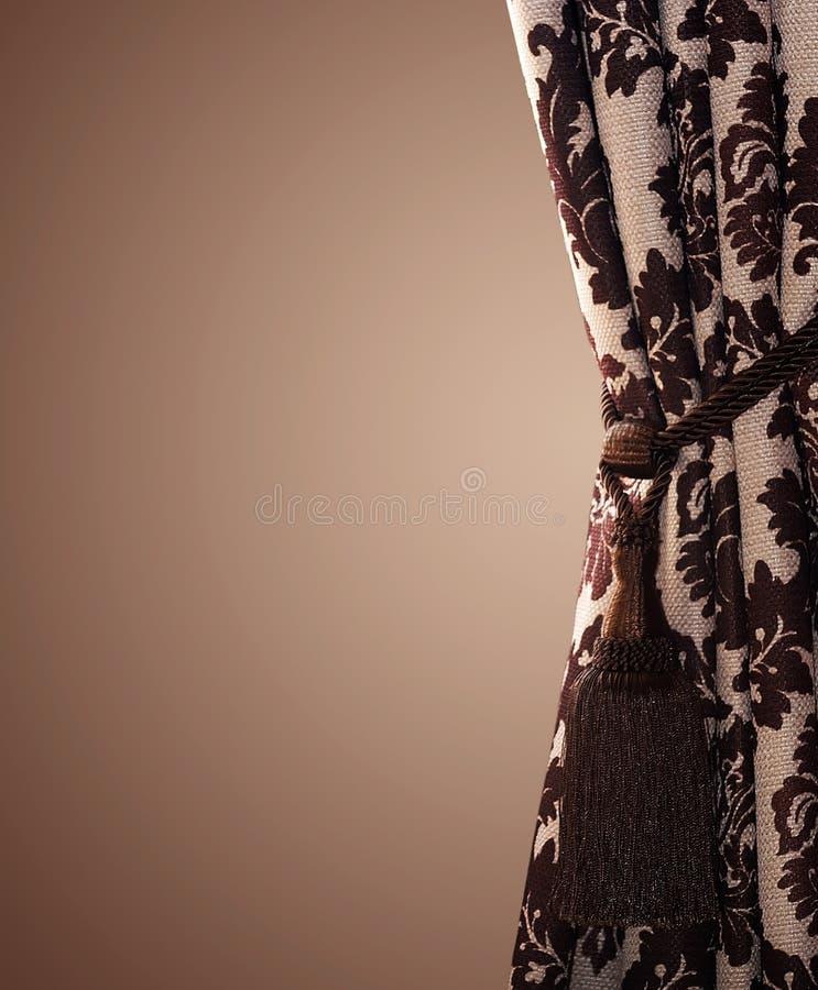 Stylish Curtain Stock Photography