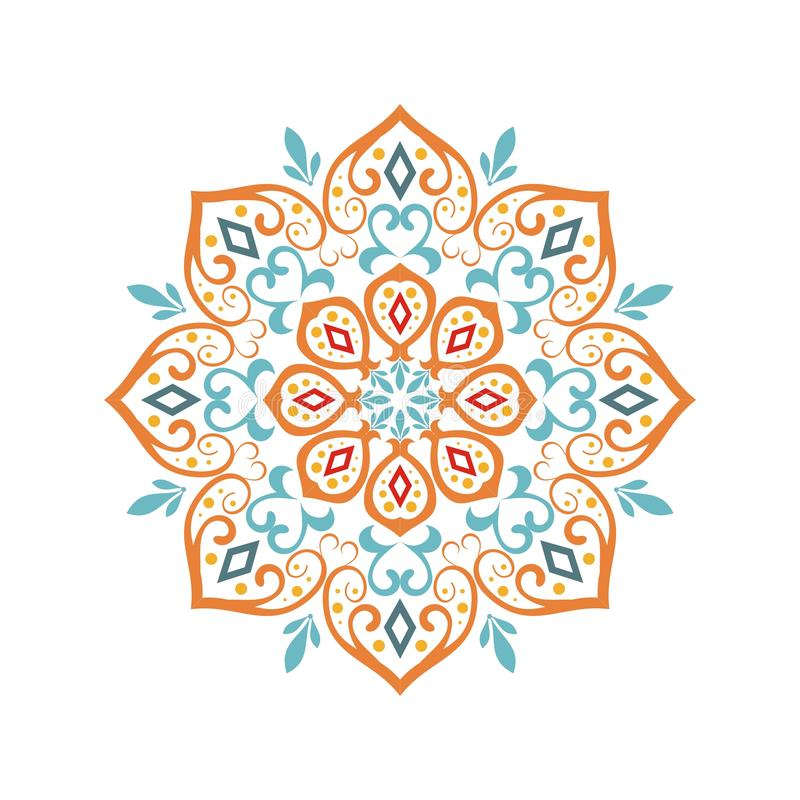 Stylish and elegant mandala design vector illustration
