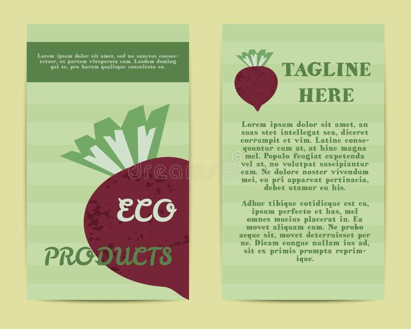Stylish Farm Fresh Flyer, Template Or Brochure Stock Vector ...