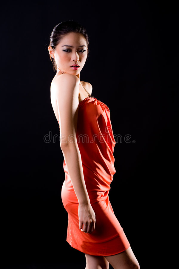 Download Stylish Fashion Asian Young Woman Royalty Free Stock Images - Image: 7728549