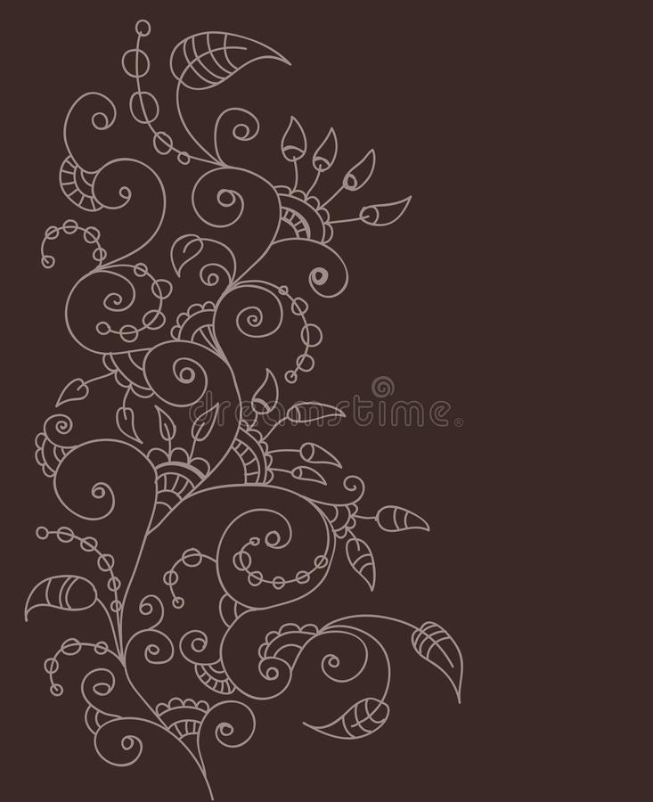 Download Stylish floral background stock vector. Image of frame - 27069967
