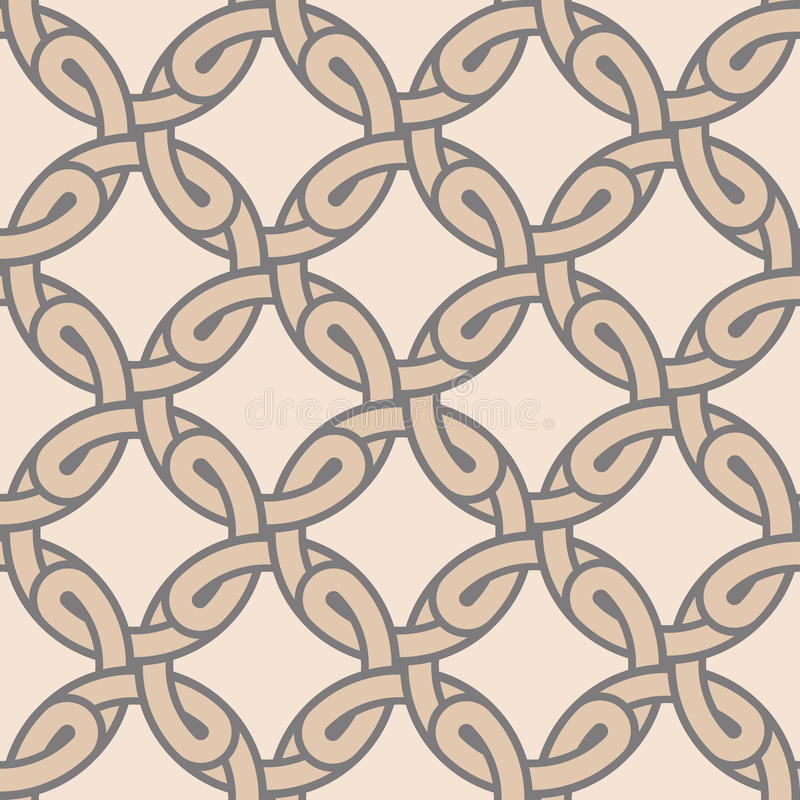 Stylish geometric ornament stock illustration