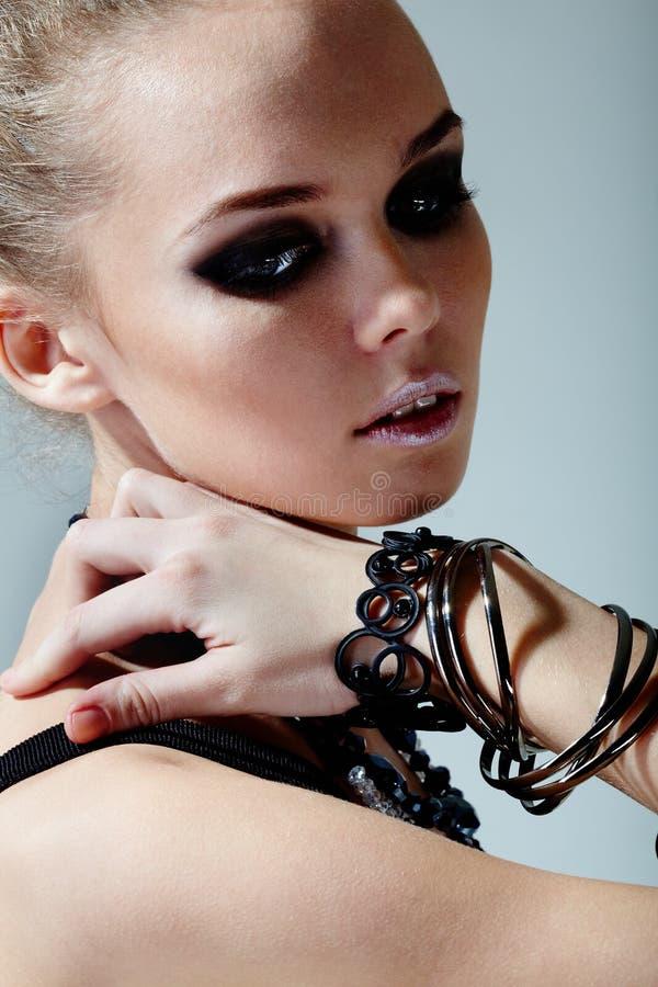 Download Stylish girl stock photo. Image of lady, human, makeup - 20418804