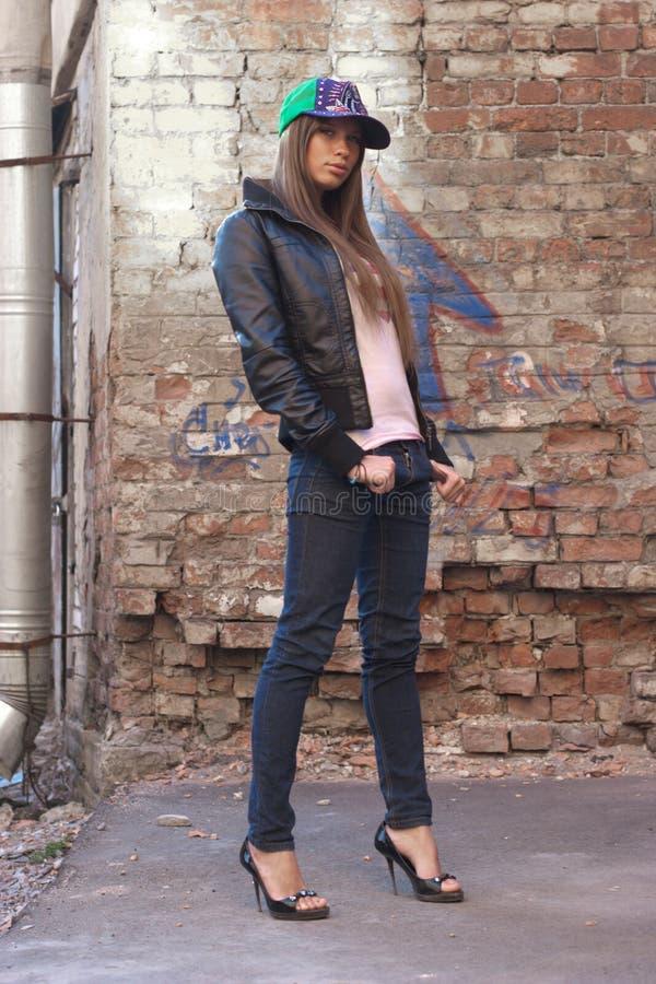 Stylish girl royalty free stock image