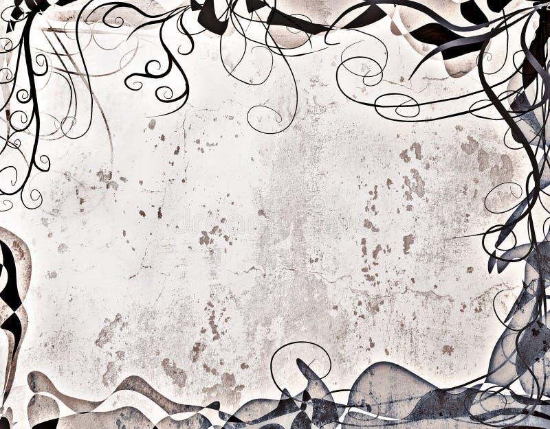 Stylish Grunge Border royalty free stock photos